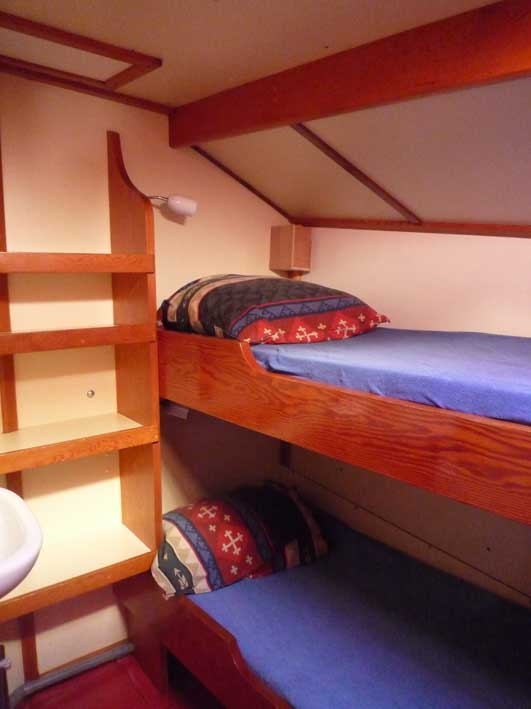 two person cabin