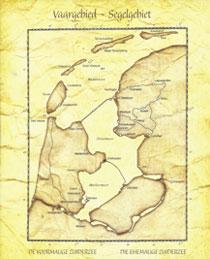 oude kaart IJsselmeer