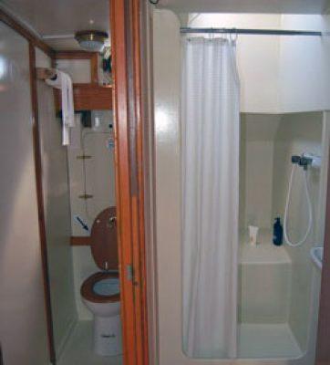 wc en douche